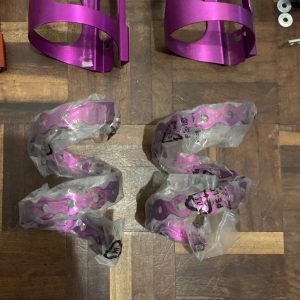 PURPLE New Old Stock NOS JD Components Cage